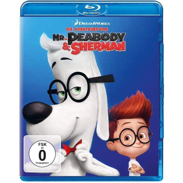 Die Abenteuer von Mr. Peabody & Sherman (DE, EN)