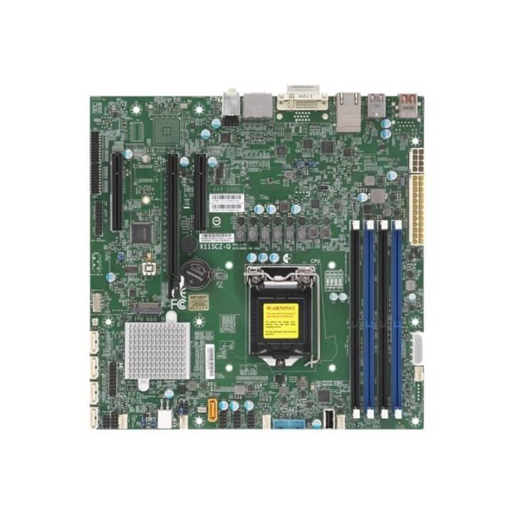 SUPERMICRO X11SCZ-Q Micro ATX X11SCZ-Q