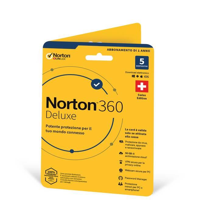 NORTON 360 Deluxe (Abbonamento, Italiano)
