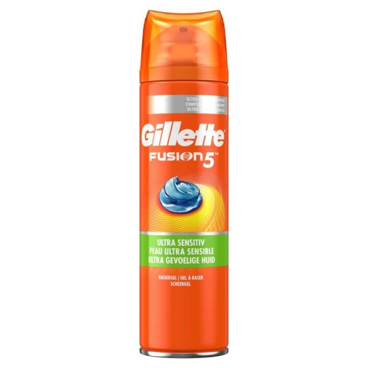 GILLETTE Mousse à raser Fusions5 Ultra Sensitive (200 ml)