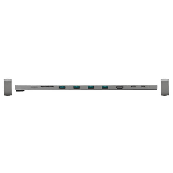 TRUST Dockingstation 23417 (HDMI, 4 x USB 3.0, RJ-45 (LAN))