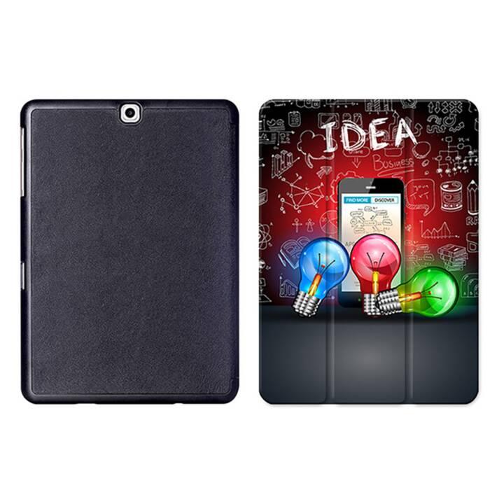"""EG MTT Sacoche à comprimés avec housse pliable Smart pour Samsung Galaxy Tab S2 9.7"""" MTT - Ampoule électrique"""