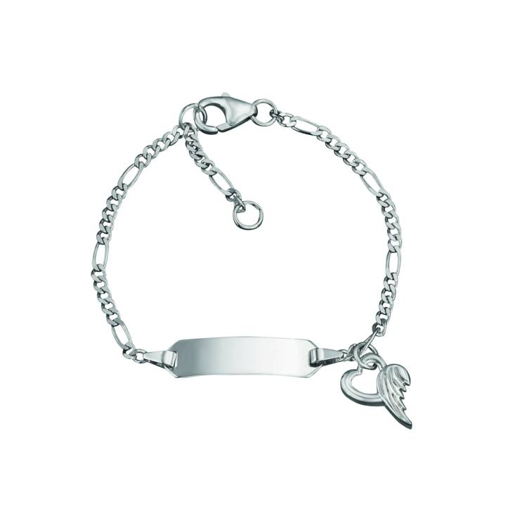 HERZENGEL   Armband (Kinderschmuck, 925 Silber, 14 cm)