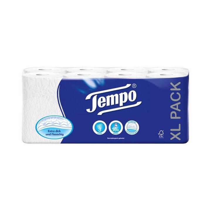 Carta igienica TEMPO Carta igienica a 3 veli bianca
