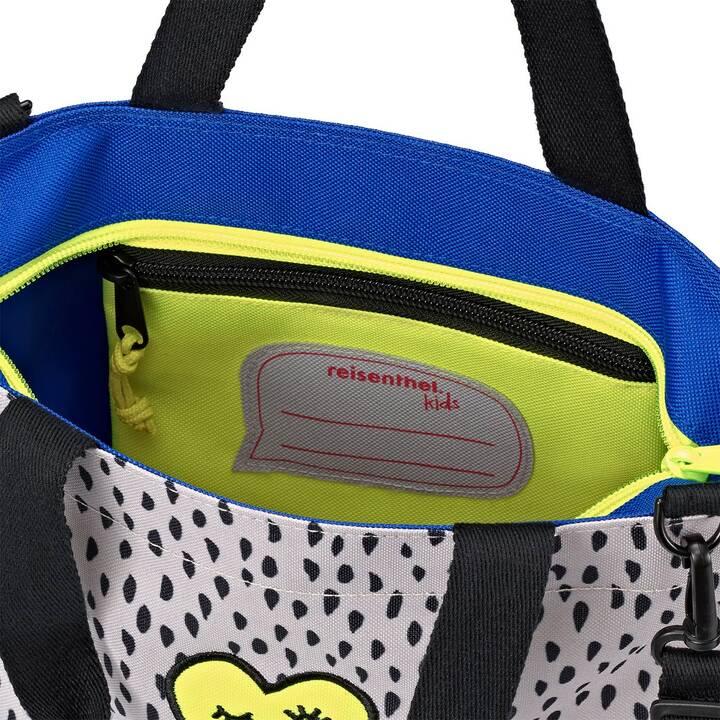 REISENTHEL Sac Shopper XS Kids Mini Me Leo (4 l, Gris, Noir, Jaune)