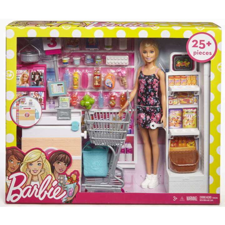 Supermercato BARBIE con bambola