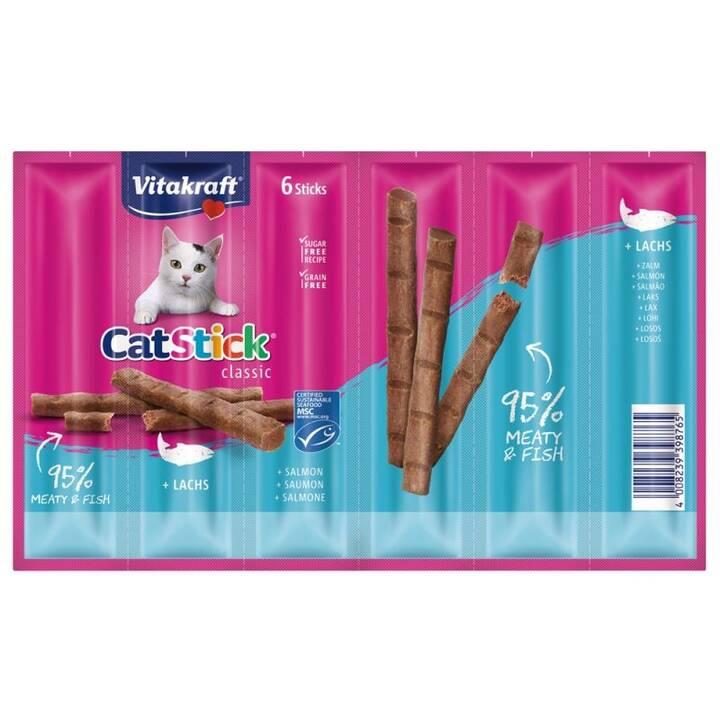 VITAKRAFT Petites friandises Mini (Sticks, Saumon, 36 g)