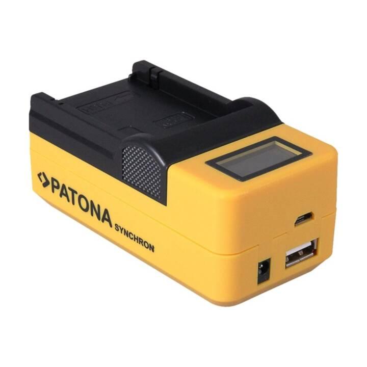 Chargeur synchrone PATONA pour Canon BP925/BP955