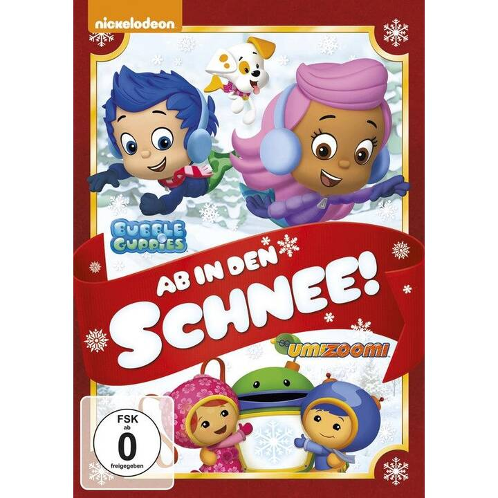 Bubble Guppies - Ab in den Schnee (DE, EN, FR, IT, ES, NL)