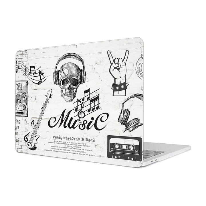 """EG MTT Hülle für Macbook Pro 15"""" Touchbar (2016 - 2018) - Musik"""