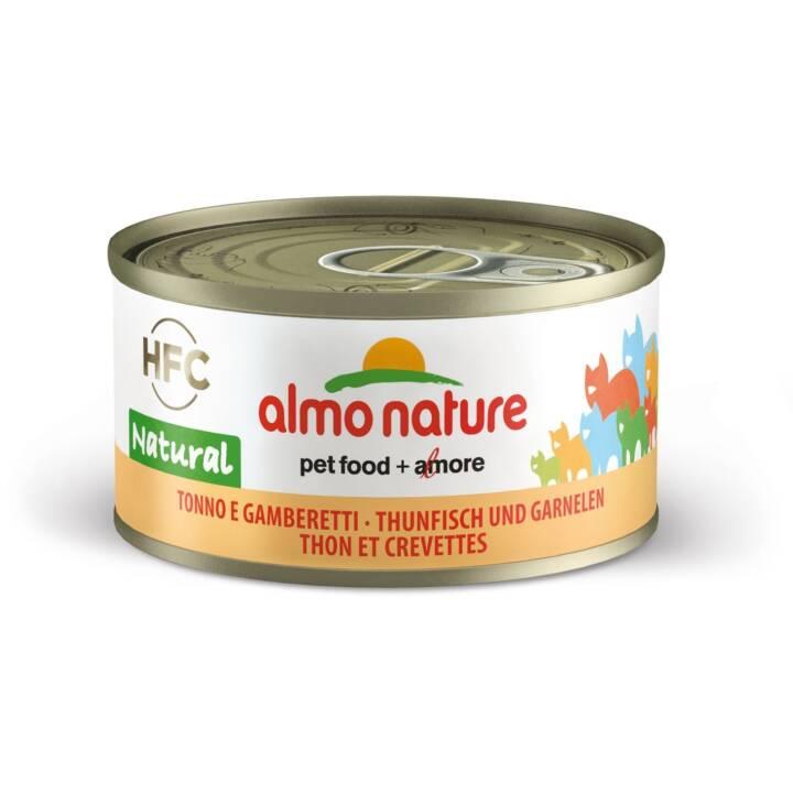 ALMO NATURE HFC Natural (Adulto, 70 g, Tonno, Gamberi)