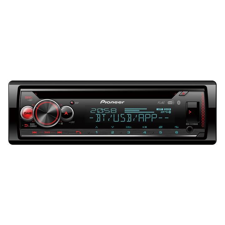 PIONEER DEH-S720DAB (Nero, Rosso, Bluetooth)