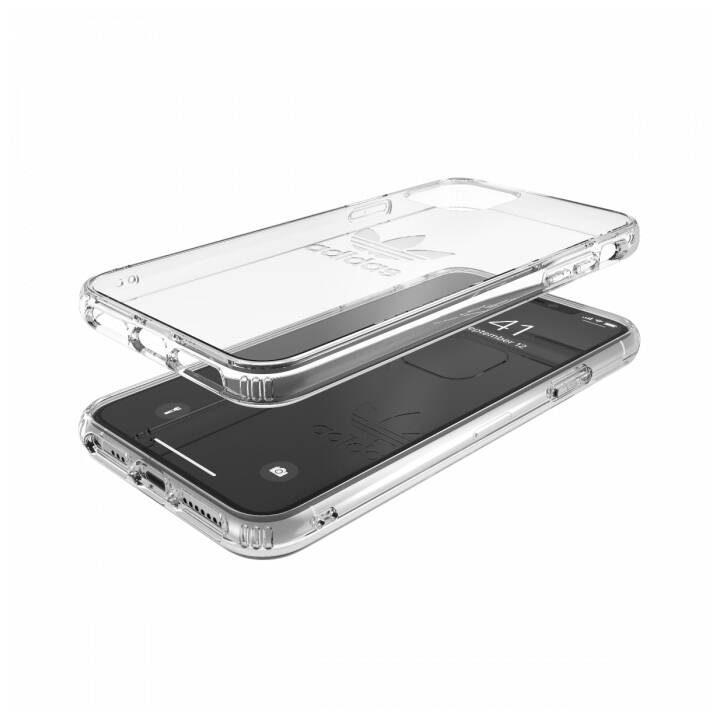 ADIDAS Backcover Protective Clear (iPhone 11 Pro Max, Transparent)