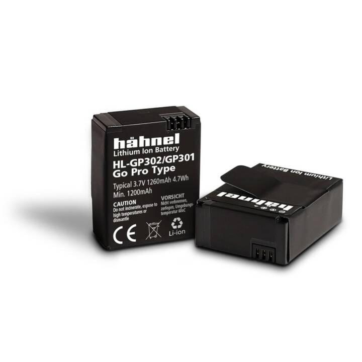 HÄHNEL HL-GP301 Videokamera-Akku, 1050 mAh