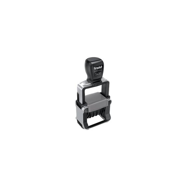 TRODAT Professional 4.0 5430/L timbre dateur auto-encreur avec textes