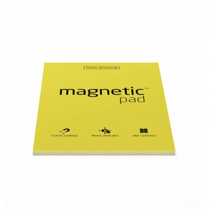 MAGNETIC Notizzettel Pad A5 Gelb