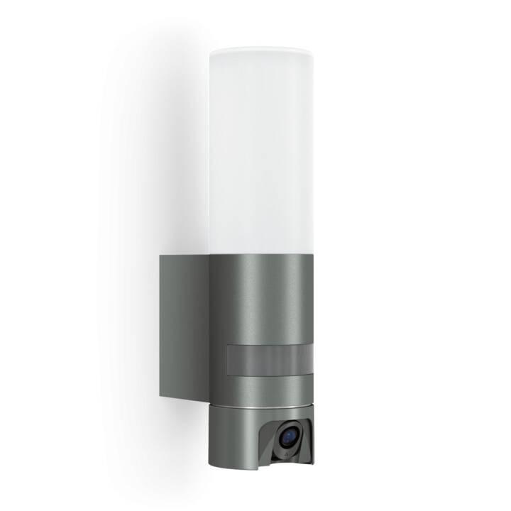 STEINEL L 600 Cam Wandleuchte (LED, 14.3 W, Weiss, Grau)