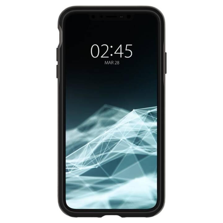 SPIGEN Backcover Neo (iPhone XS Max, Grigio, Nero)