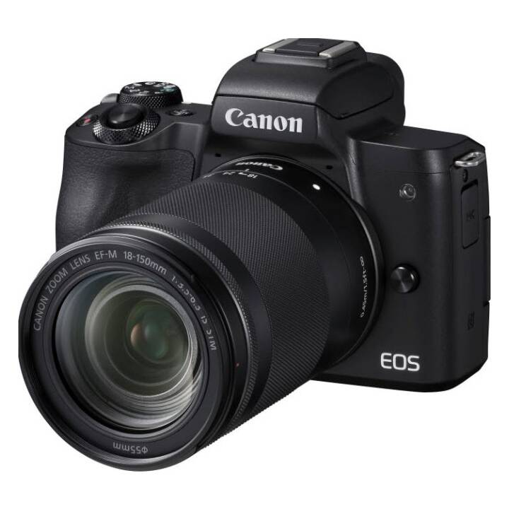 CANON EOS M50 24.10 MP + Objektiv Canon EF-M 18 - 150 mm