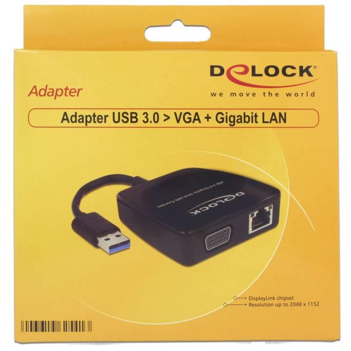 Adattatore DELOCK USB 3.0-VGA