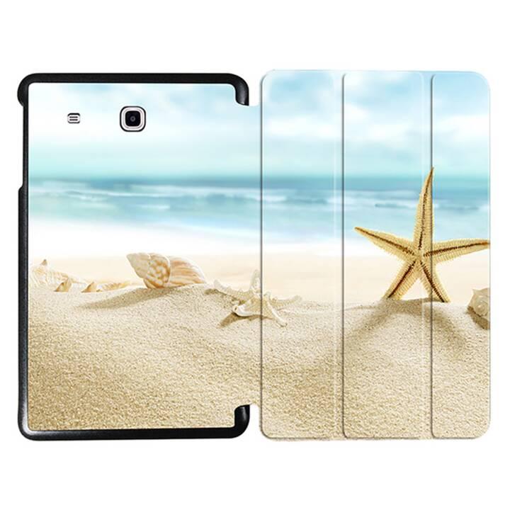 "EG MTT Sacoche à comprimés avec couvercle rabattable pour Samsung Galaxy Tab E 9.6"" - Beach"