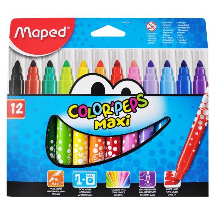 MAPED Filzstifte Color Peps Maxi 12 Stück