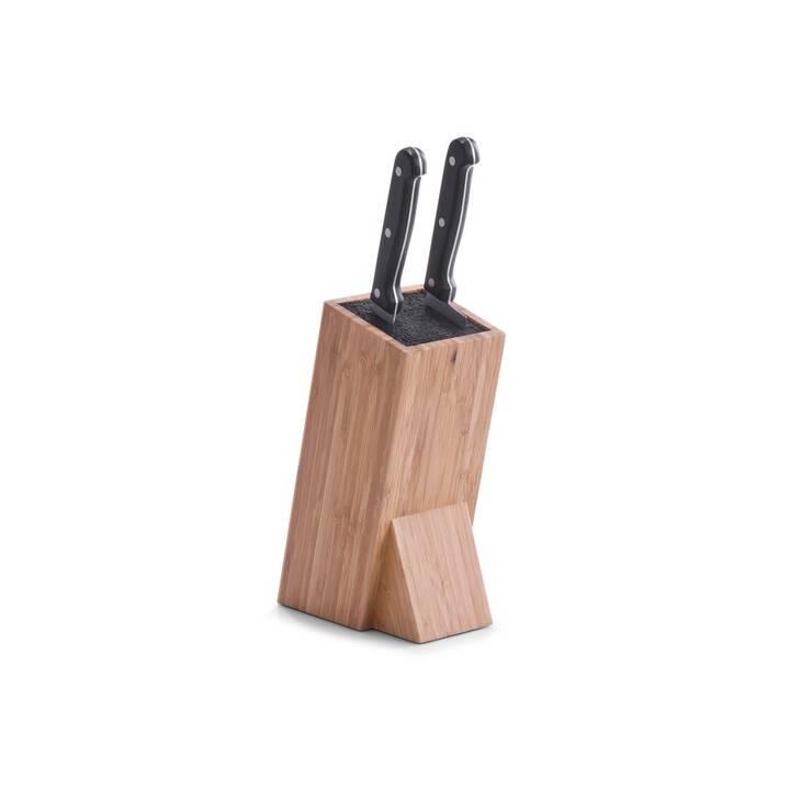 ZELLER PRESENT Ceppo di coltelli (Bambù, Plastica)