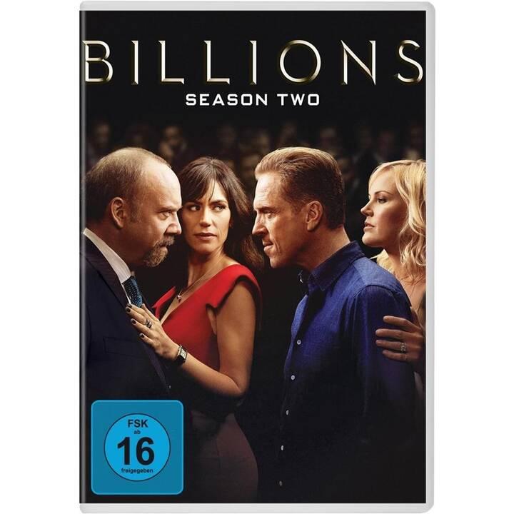 Billions Staffel 2 (DE, EN, FR, ES)