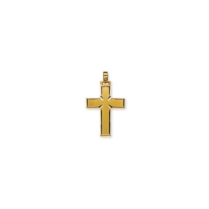 MUAU Balken-Kreuz Anhänger (30 mm)