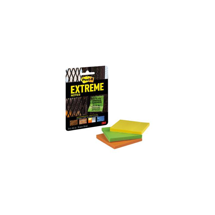 POST-IT Haftnotizen 76x76mm (Mehrfarbig)