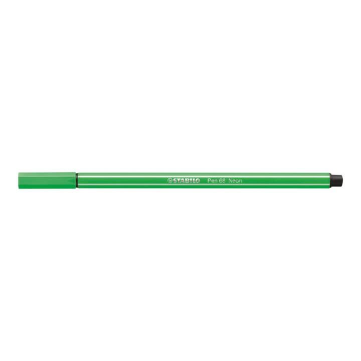 STABILO Stylo-fibre 68 1mm vert néon