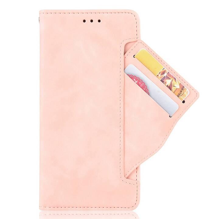 """EG Mornrise custodia a portafoglio per Xiaomi Mi Note 10 lite 6.47 """"(2020) - rosa"""