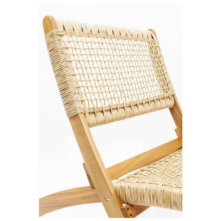 KARE Chaise pliante Copacabana