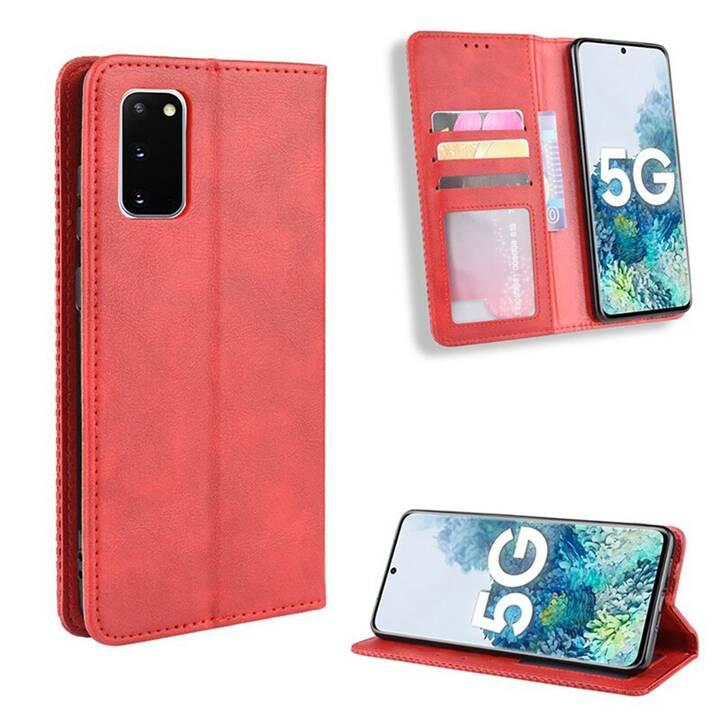 """EG Mornrise Wallet Case für Samsung Galaxy S20 Plus 6.7"""" 2020 - rot"""