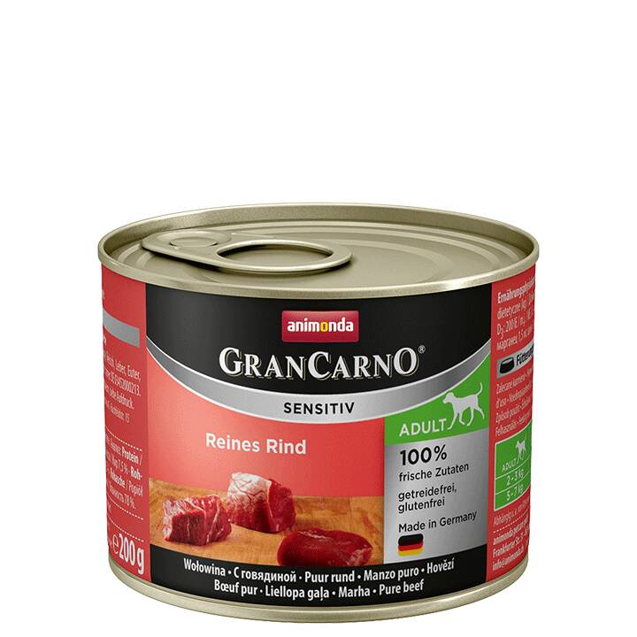 ANIMONDA GranCarno Sensitiv Nassfutter (Adult)