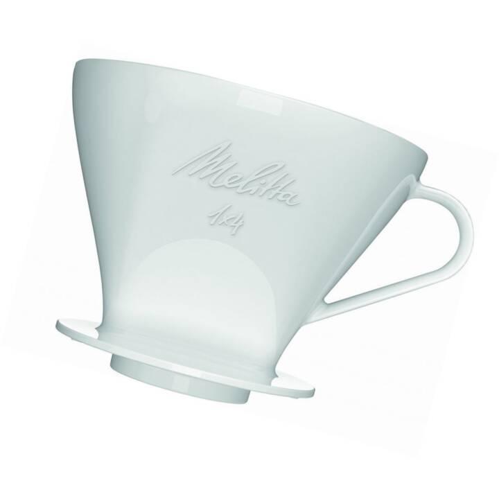 MELITTA Kaffeefilter Halter Porzellan 1x4