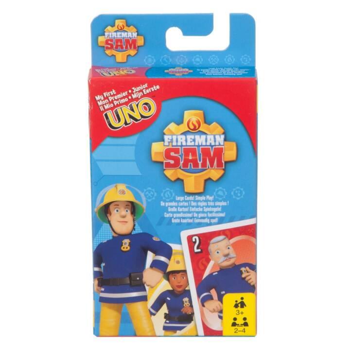 MATTEL UNO Junior Firefighter Junior Firefighter Sam Card Game