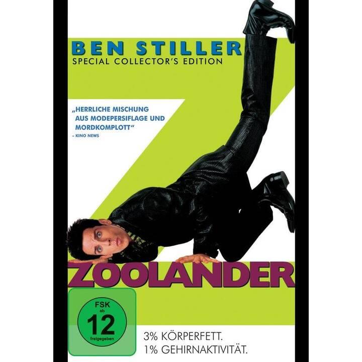 Zoolander (DE, EN, CS)