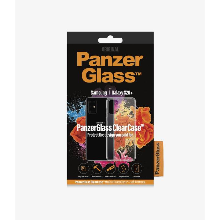 PANZERGLASS Backcover ClearCase (Galaxy S20+, Transparente)