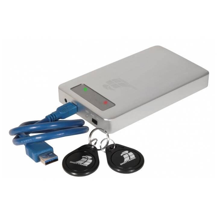 DIGITTRADE RS256 (USB 3.0, 4000 GB, Argento)