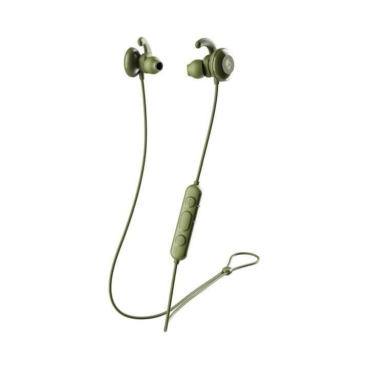 SKULLCANDY S2NCW-M687 (In-Ear, Bluetooth, Verde oliva, Giallo)