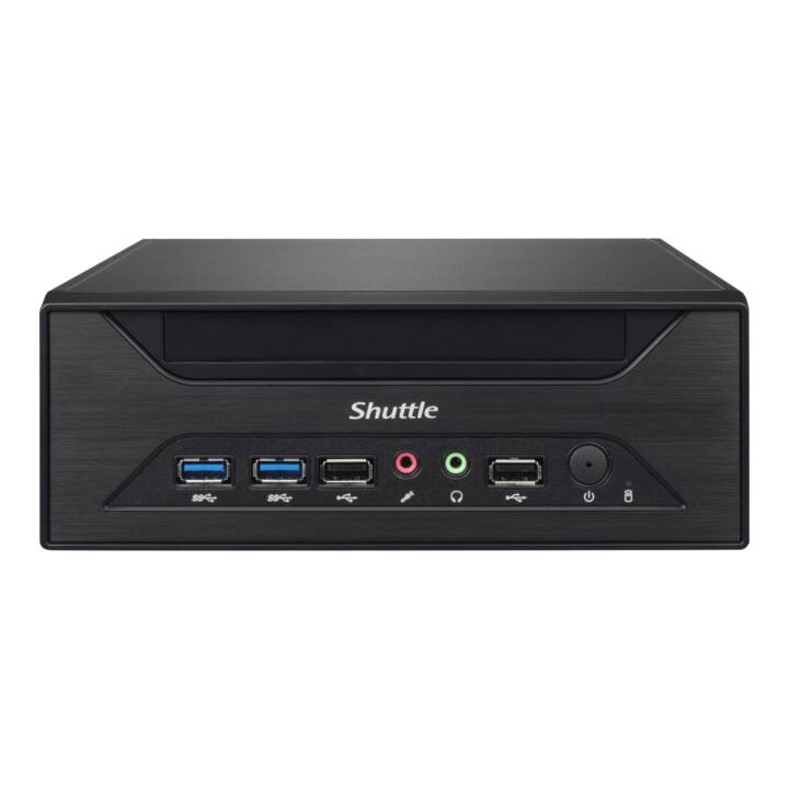 SHUTTLE XPC slim XH110 (Intel Core i7 Intel Core i5 Intel Core i3 Intel Pentium Intel Celeron, 0 GB, 0 GB HDD)