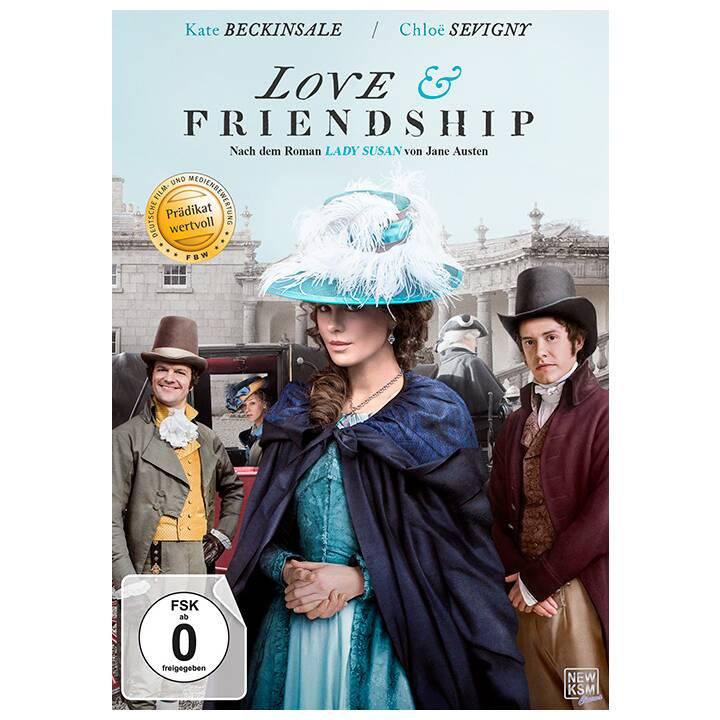 Jane Austen's Love & Friendship (DE, EN)