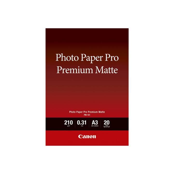 CANON PM-101 Papier photo (A3, 20 feuille)