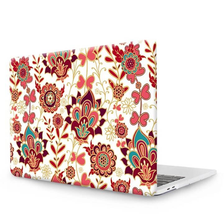 """EG MTT Copertina per computer portatile con copertura tastiera, parapolvere, penna a sfera per MacBook Pro 15"""" Touchbar - Etnica"""