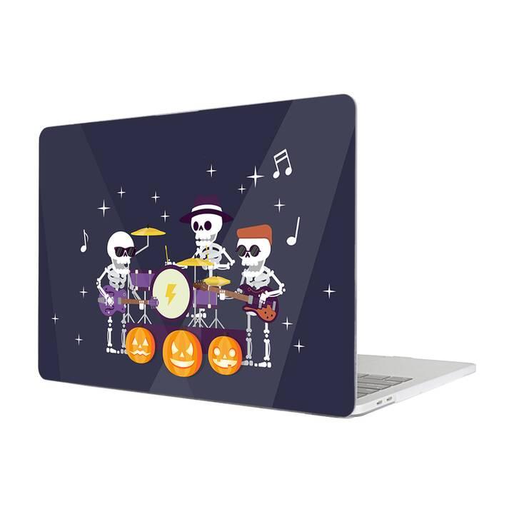 """EG MTT Hülle für Macbook Pro 13"""" Not Touchbar (2016 - 2018) - Skeleton"""
