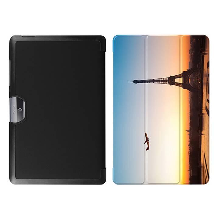 """EG MTT Tablet bag con coperchio pieghevole per Acer Iconia Tab 10 10 10.1"""" - Paesaggio"""