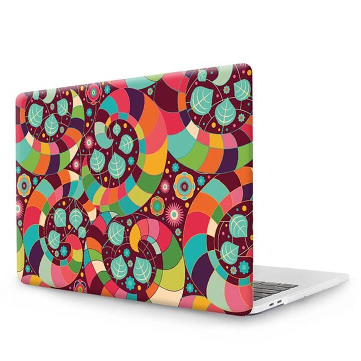 """EG MTT Laptopabdeckung mit Tastaturabdeckung, Staubschutzhüllen, Kugelschreiber für MacBook Pro 15"""" Touchbar - Ethnic"""