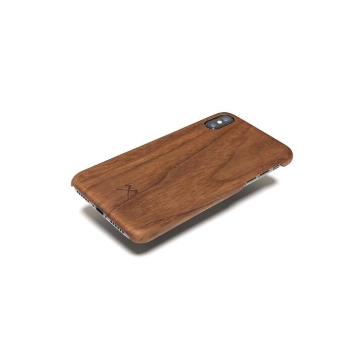 WOOODCESSORIES Coque arrière EcoCase Kevlar pour iPhone X Walnut