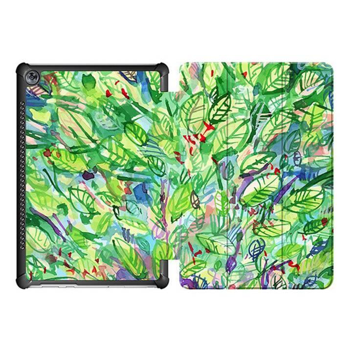 "EG MTT Custodia tablet per Huawei Mediapad M5 10.8"" - Green Leaves"